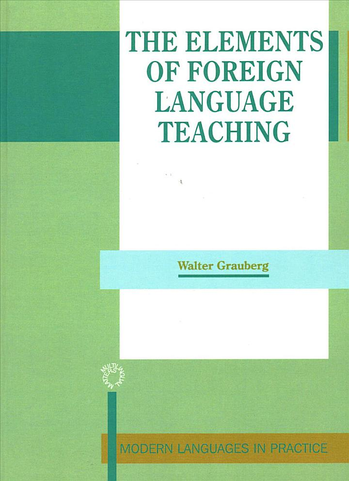 The Elements of Foreign Language Teaching