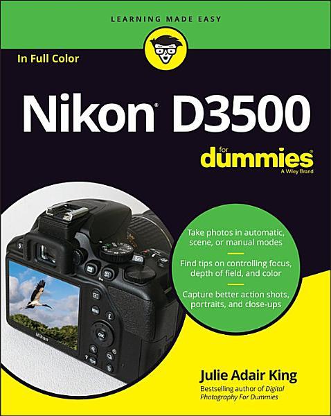 Download Nikon D3500 For Dummies Book