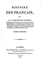 Histoire des Français: Volume6