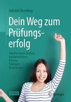 Dein Weg zum Pr  fungserfolg PDF