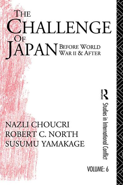 Challenge Of Japan Before World War Ii