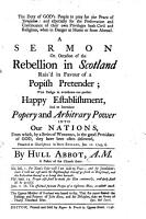 The Duty of God s People to Pray for the Peace of Jerusalem     A Sermon on Occasion of the Rebellion in Scotland     Preached at Charlestown in New England  Jan  12  1745 6 PDF