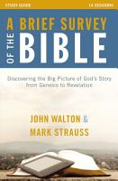 A Brief Survey of the Bible Study Guide PDF