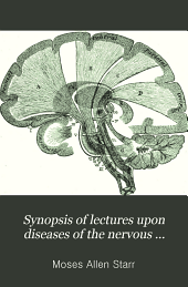 Synopsis of Lectures Upon Diseases of the Nervous System Delivered at the College of Physicians and Surgeons