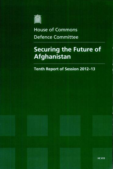 Securing the Future of Afghanistan PDF