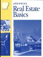 Arkansas Real Estate Basics PDF