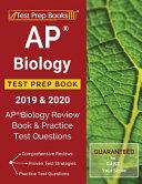 AP Biology Test Prep Book 2019   2020