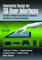 Interaction Design for 3D User Interfaces PDF