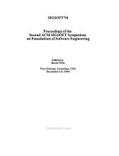 SIGSOFT  94 PDF