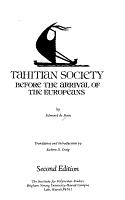 Tahitian Society Before the Arrival of the Europeans PDF