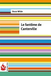 Le fantôme de Canterville (low cost). Édition limitée