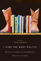 I Sing the Body Politic PDF