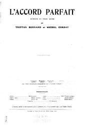 L'accord parfait : comédie en trois actes
