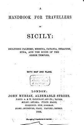 A Handbook for Travellers in Sicily PDF