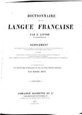 Dictionnaire de la langue française: Volume2