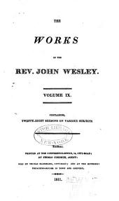 The Works of the Rev. John Wesley: Volume 9