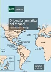 ORTOGRAFÍA NORMATIVA DEL ESPAÑOL. VOL-I. 5a EDICIÓN