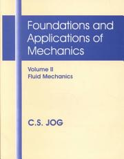 Foundations and Applications of Mechanics  Fluid mechanics PDF