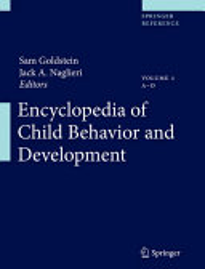 Encyclopedia of Child Behavior and Development