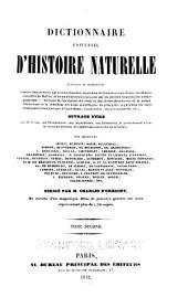 Dictionnaire universel d'histoire naturelle: Volume2