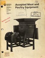 Accepted Meat and Poultry Equipment