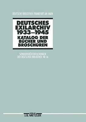 Deutsches Exilarchiv 1933 1945 PDF