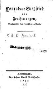 Conrad und Siegfried Feuchtwangen: Grossmeister des deutschen Ordens, Band 2