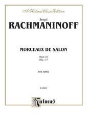 Morceaux de Salon, Op. 10: Nos. 1-7