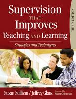 Supervision That Improves Teaching and Learning PDF