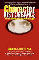 Character Disturbance Book PDF