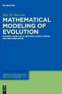 Mathematical Modelling of Evolution