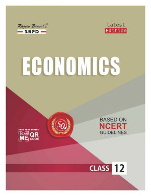 Economics Class XII by Dr  Anupam Agarwal  Mrs  Sharad Agarwal  SBPD Publications