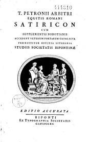 T. Petronii Arbitri Satirricon