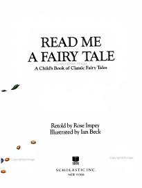 Read Me A Fairy Tale