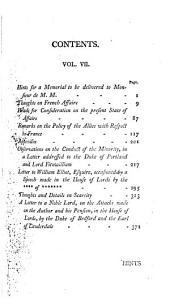 The Works of the Right Honourable Edmund Burke: Volume 7