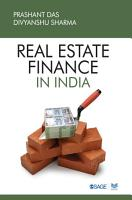 Real Estate Finance in India PDF