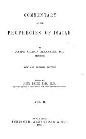 Commentary on the Prophecies of Isaiah: Volume 2