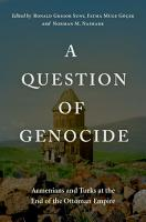 A Question of Genocide PDF