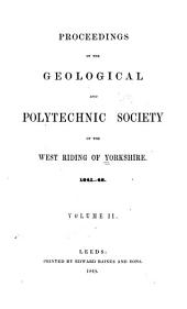 Proceedings of the Yorkshire Geological Society: Volume 2