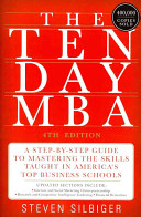 The Ten Day MBA 4th Ed  PDF