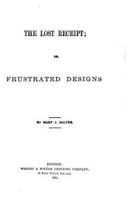 The Lost Receipt  Or  Frustrated Designs PDF