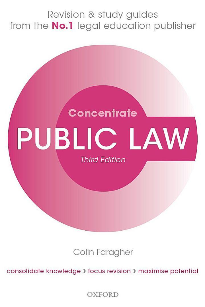 Public Law Concentrate