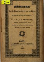 Mémoire sur la dénomination et sur les règles de l'architecture dite gothique
