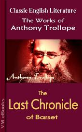 The Last Chronicle of Barset: Trollope's Works