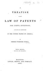 A Treatise on the Law of Patents for Useful Inventions in the United States of America  Second edition  etc PDF