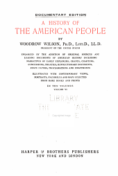 A History of the American People: Volume 6