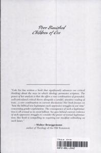 Poor Banished Children of Eve Book