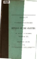 Report of the Commissioners on the Revision of the Statutes PDF