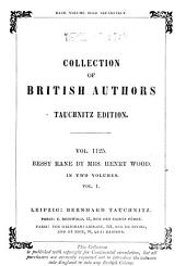Bessy Rane: A Novel, Volume 1