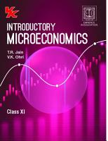 Introductory Microeconomics   Class 11 by T R  Jain and V K  Ohri  2020 21  PDF